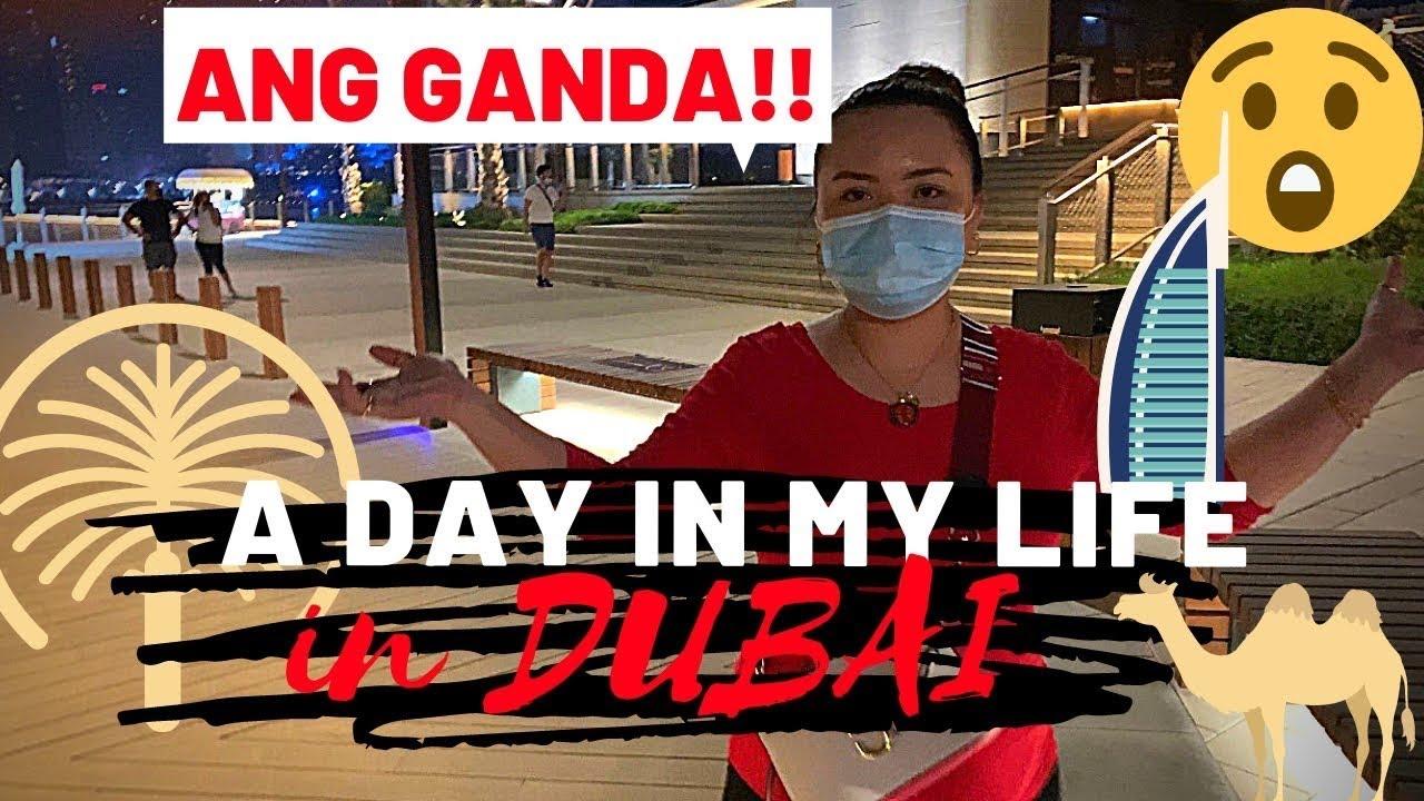 A DAY IN MY LIFE IN DUBAI • Mitch Cadena