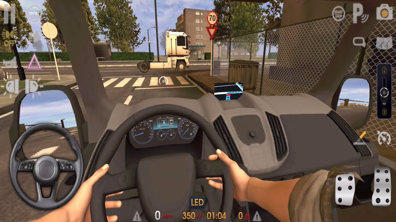 Driving School Sim 2020 🚛🚒 CARGO TRUCK DRIVER  - Car Games Android iOS Gameplay