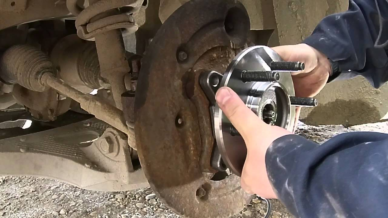 F150 Wheel Hub Replacement Diy Youtube