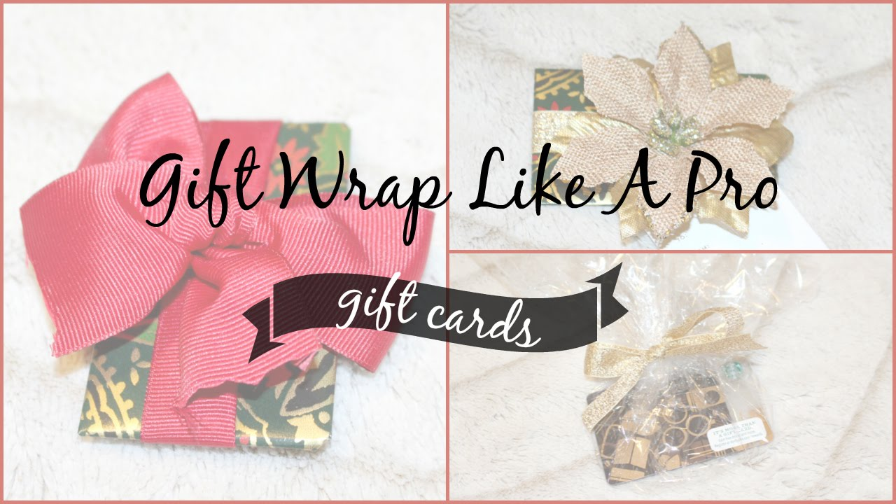 Gift Wrap Like A Pro How To Card The Closet By