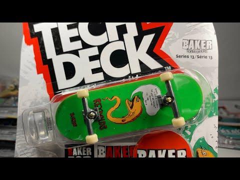 Tech Deck Baker Skateboards KADER Deck Series 13 Part 2