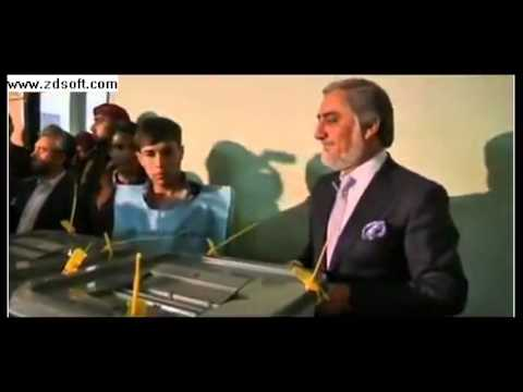 Abdullah Ghani run off in Afghan election
