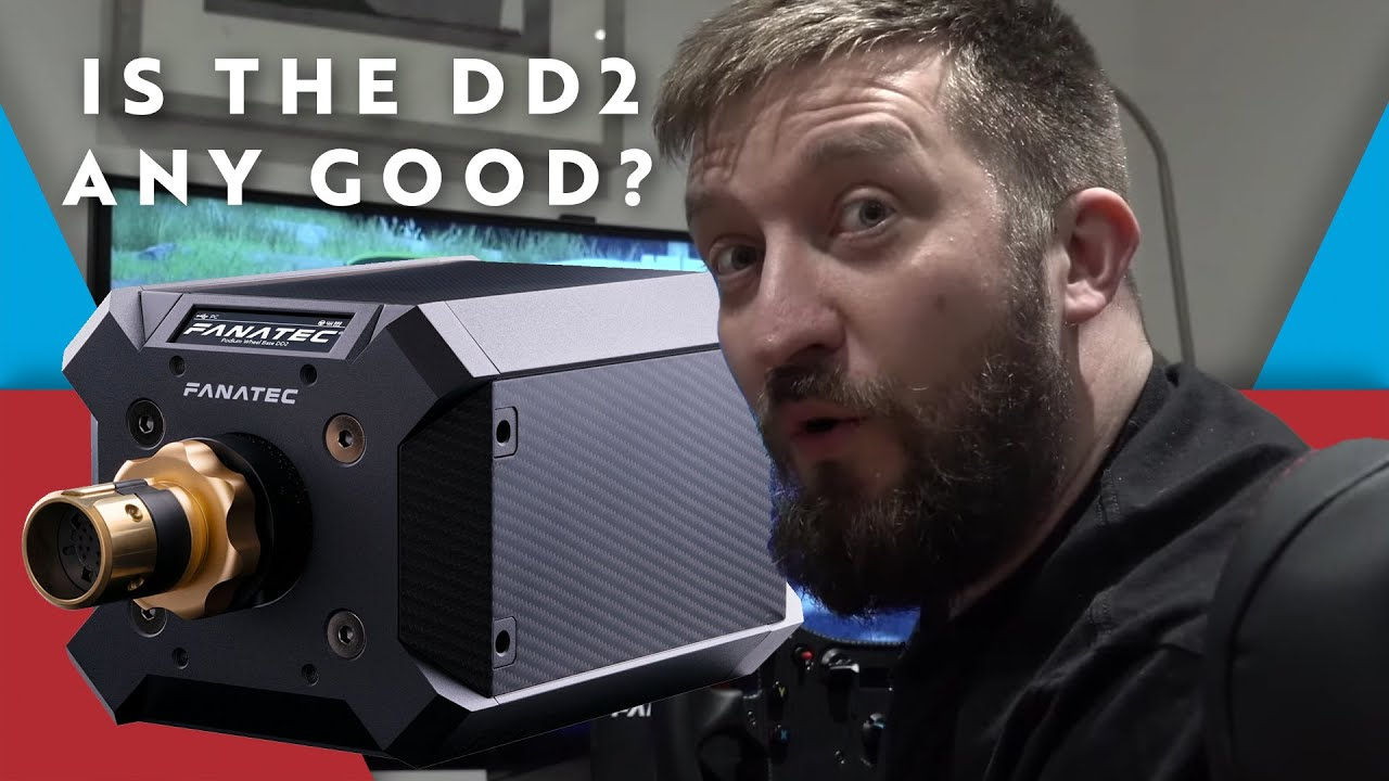 Steve Worrell's hilariously serious Fanatec DD2 review