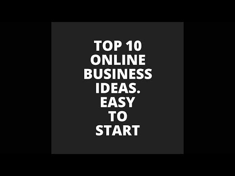 Top 10 Online Business Ideas || Easy-To -Start ||