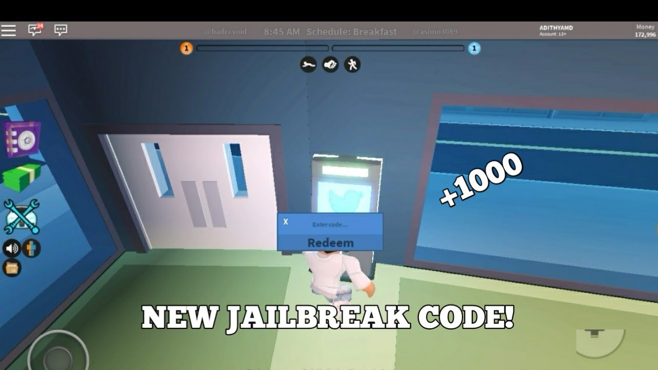 Roblox Jailbreak Atm Codes | Games That Give U Free Robux