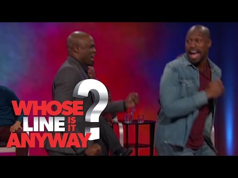 Amazing Nicki Minaj Impression with Vernon Davis - Whose Line Is It Anyway? US