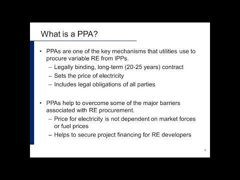 Power Purchase Agreements for Grid-Aware Renewable Energy Pr