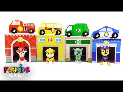 Thumbnail: Learning Videos for Kids: Paw Patrol Skye & Chase Learn Colors, Numbers, & Toy Cars for Kids Video!