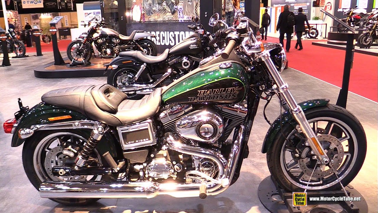 2016 harley davidson low rider walkaround 2015 salon for Salon de la moto 2016