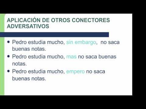 APRENDIENDO UTILIZAR LOS CONECTORES | Doovi