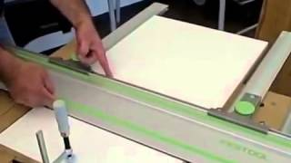 festool parallel guides for making repetitive cuts with a track saw