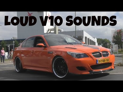 BEST OF BMW V10 ENGINE SOUNDS!