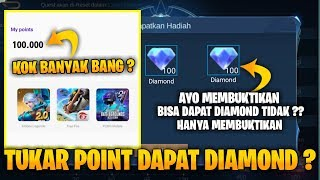 MEMBUKTIKAN TUKAR POINT UNLIMITED DAPAT DIAMOND ? - MOBILE LEGENDS