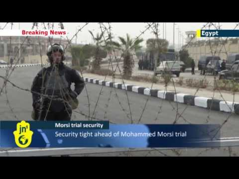 Mohammed Morsi on trial: security tight in Egypt ahead of deposed Islamist leader's Cairo trial