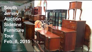 February 8, 2015 - Sideline Furniture Tour - South Jersey Auction