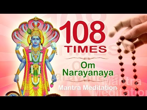 OM NARAYANAYA | 108 Times |  Chanting Mantra Blessing for Wealth & Prosperity
