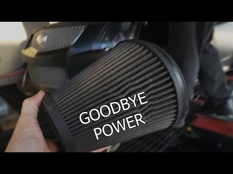 How much performance is lost from a DIRTY Air Filter?