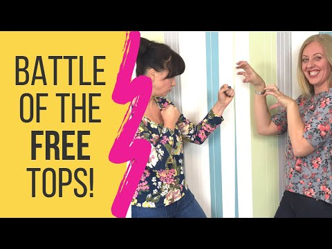 Free Sewing Patterns For Jersey Tops | Battle Of The Free Top Patterns