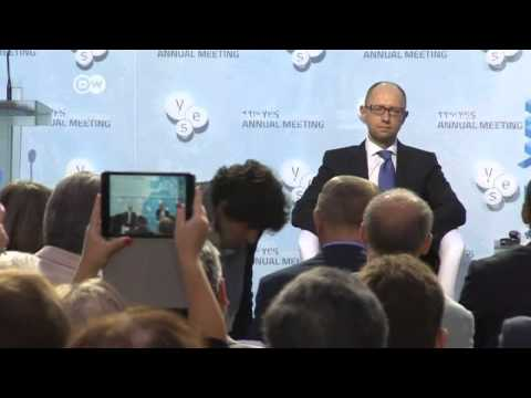 Yatsenyuk: conflict not over for Putin | Journal