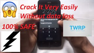 How To Crack Any Lockscreen without data loss 100% safe (WORKING)
