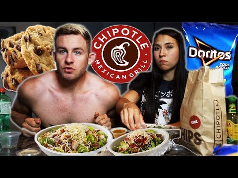 THE CHIPOTLE COUPLES MUKBANG! (LIVESTREAM GONE WRONG?)