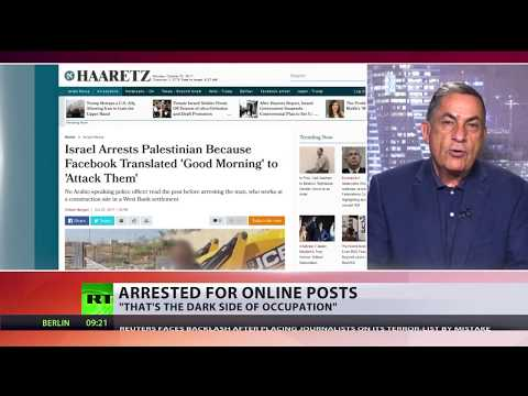 'Good Morning' or 'Attack them'? Palestinian arrested over mistranslated FB post