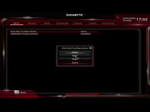BIOS overview: Gigabyte X470 Ultra Gaming (should be very similar to Gaming 5)
