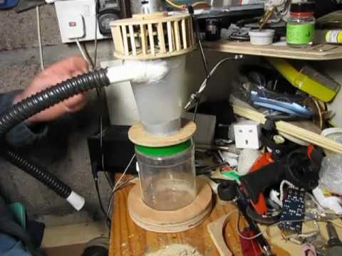 Diy Mini Cyclone Vacuum Youtube