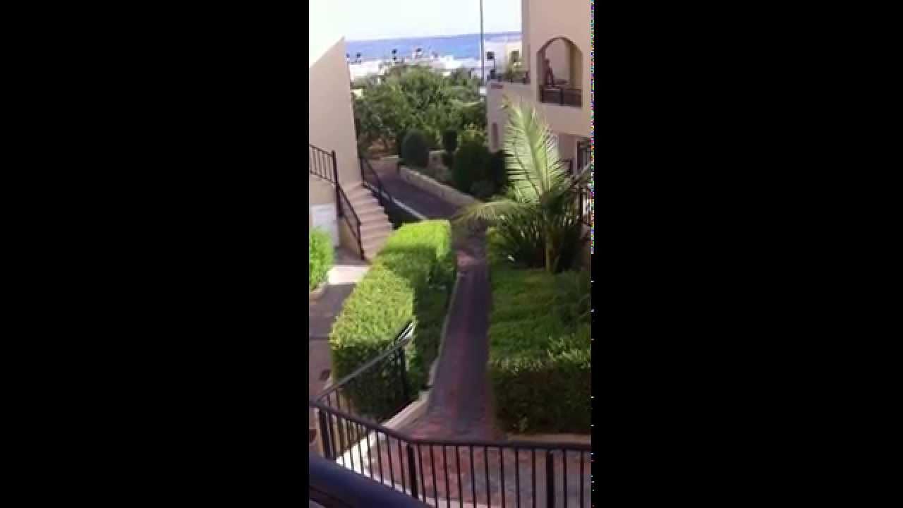 rainbow apartments stalis greece - YouTube