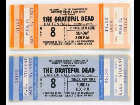 Grateful Dead - Scarlet / Fire - Ithaca NY - 05-08-1977