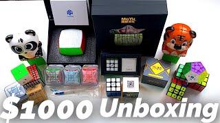 MASSIVE $1000 Cube Unboxing | SpeedCubeShop.com Video
