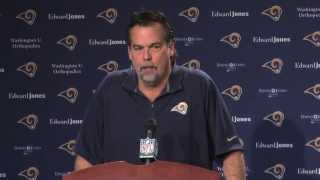 """Jeff Fisher on 2013 Season """"We'll learn from what happened."""""""