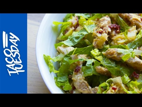 taco-tuesday:-chipotle-chicken-salad-with-avocado,-red-skin-potatoes-and-romaine