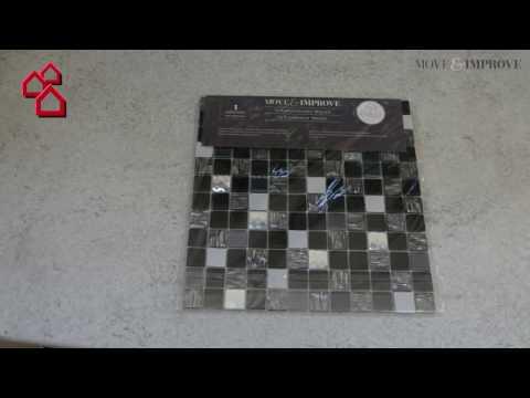 "BAUHAUS TV - Produktvideo: Selbstklebendes Fliesenmosaik ""Move & Improve"""