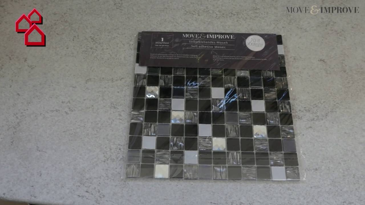 Selbstklebemosaik Sam 4mm87 30 5 X 30 5 Cm Metall Silber Bauhaus