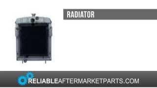 International Farmall IHC Tractor Radiator  H Super H