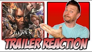GLASS (2019) - Trailer Reaction (San Diego Comic Con 2018 Trailer | Split 2)