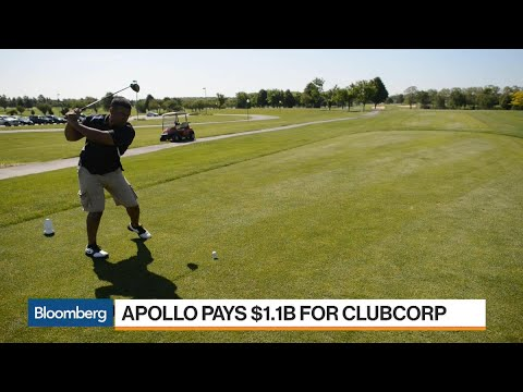 Why Apollo Is Making a $1.1 Billion Wager on Golf