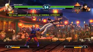 THE KING OF FIGHTERS XIII Gameplay PC STEAM EDITION