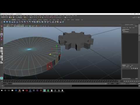 How To Set Up Gear in Maya Using Gear Ratios