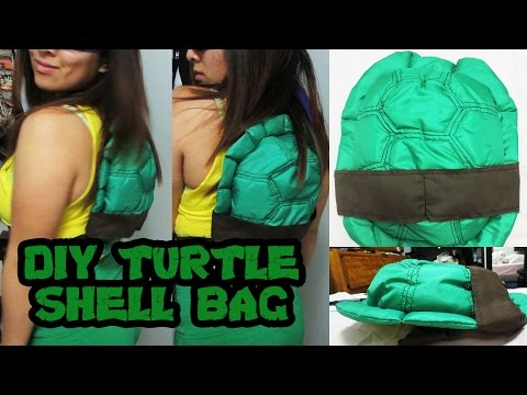 [Tutorial + Pattern] TMNT Turtle Shell Costume