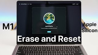 How To Erase aฑd Reset an M1 or Apple Silicon Mac back to factory default