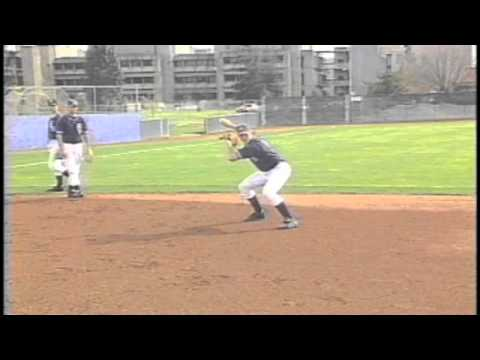 Baseball practice infield drill- Softly rolled ground ball