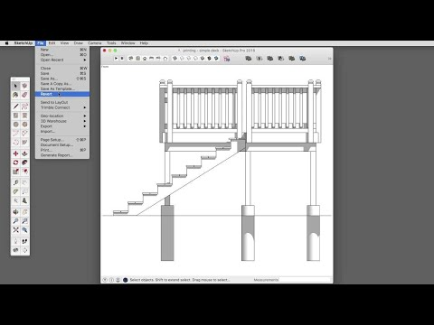 SketchUp Skill Builder: Printing to Scale with SketchUp Make