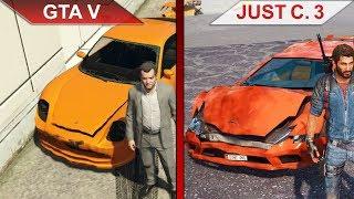THE BIG GTA V vs. JUST CAUSE 3 SBS COMPARISON PC ULTRA