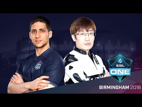 Dota 2 - OG vs. ViCi Gaming - Group B Opening Match - ESL One Birmingham 2018 Day 1