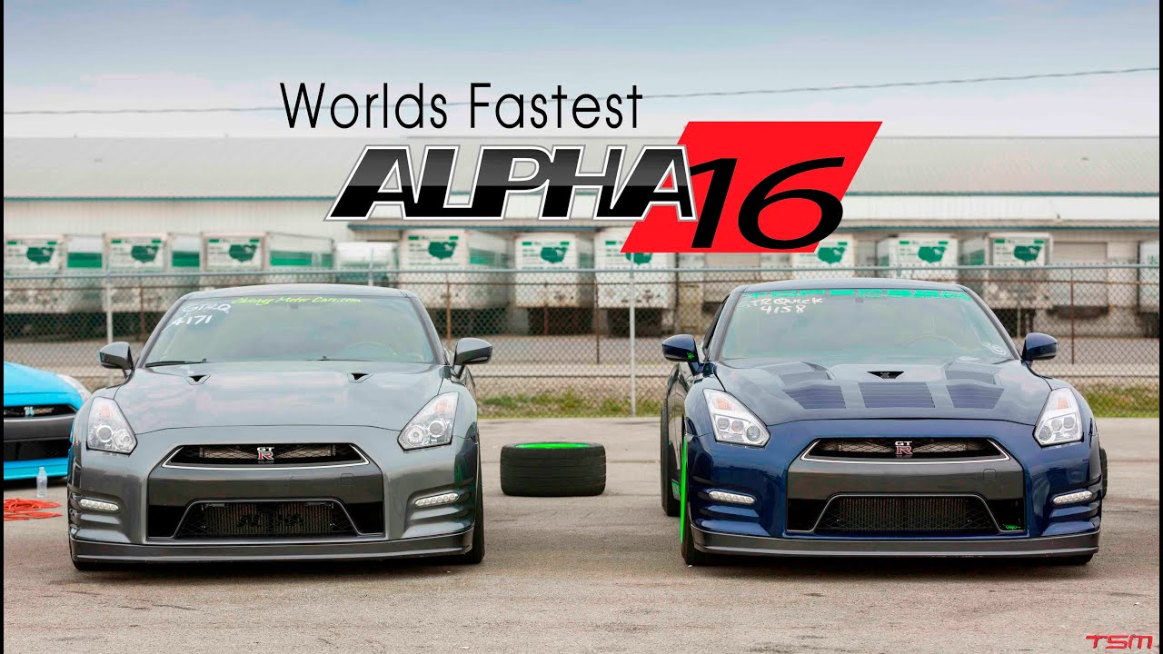 World Record Nissan Alpha 16 Gt R 2015 Topspeed