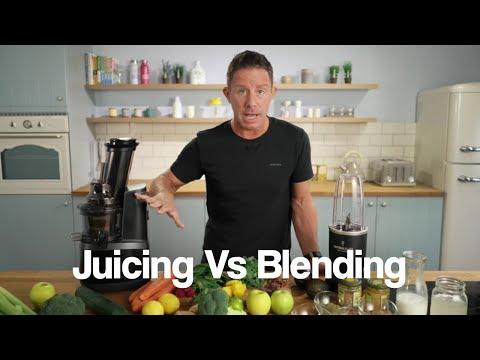 Jason Vale's Juicing Vs Blending Guide