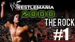 WWF/WWE Wrestlemania 2000 - Part 1 - Road To Wrestlemania Mode With The Rock (N64)