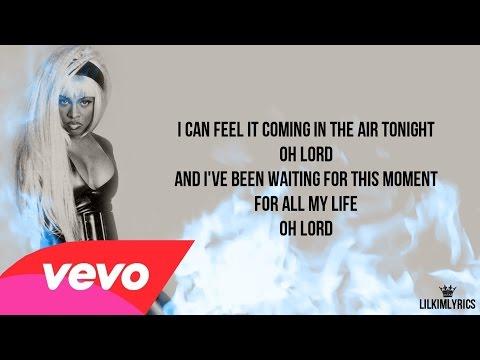 Lil' Kim - In The Air Tonite ft. Phil Collins (Lyrics Video) HD